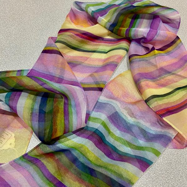 Linear Composition No.4 Scarf