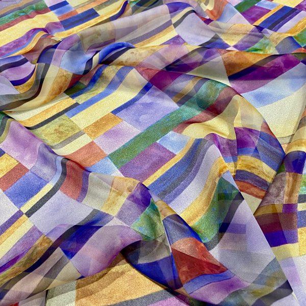 Colour Line & Form Composition No.1 Scarf