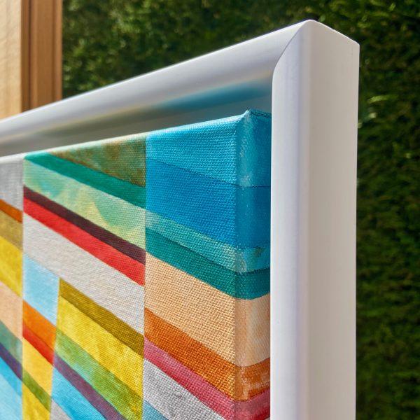 Colour Line & Form Composition No.2 Close Up Side View