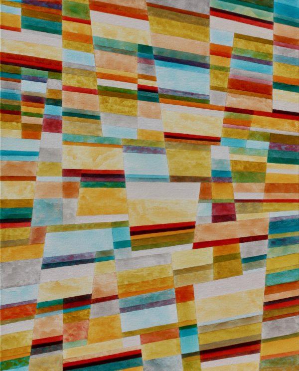 Colour Line & Form Composition No.1 Unframed
