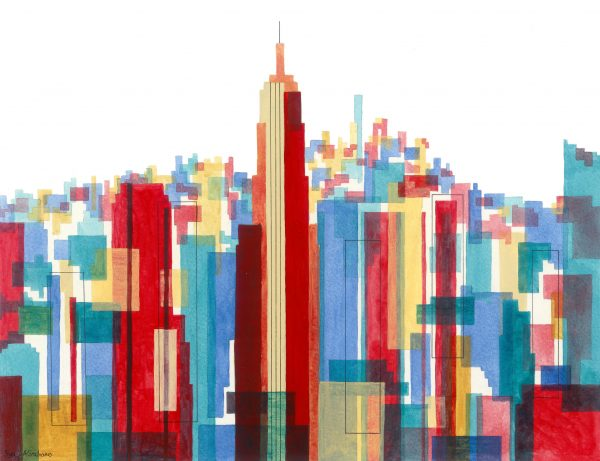 Manhattan Impressions No.1 Unframed