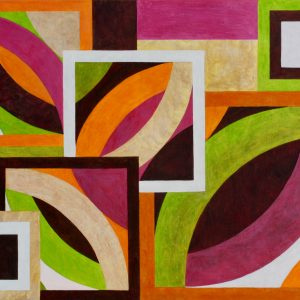 Organic Geometry Composition No.1 Unframed