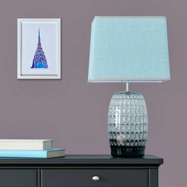 Chrysler Building Print in room 1