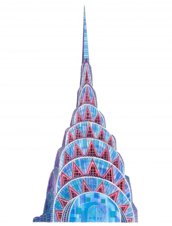 Chyrsler Building New York Unframed