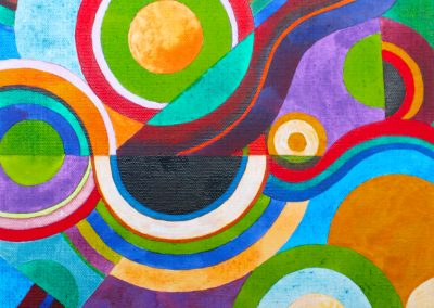 Coloured Rhythms Composition No.1 - SOLD