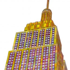 Empire State Building Unframed