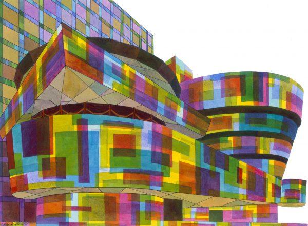 Guggenheim New York No.2 Unframed