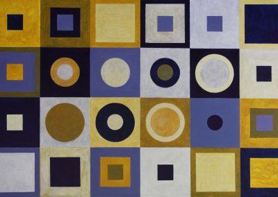 Homage I to Klimt - SOLD