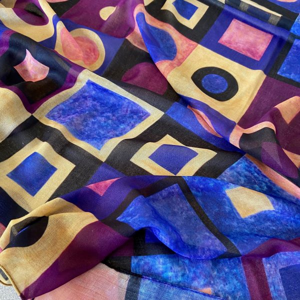 Homage III to Klimt Scarf