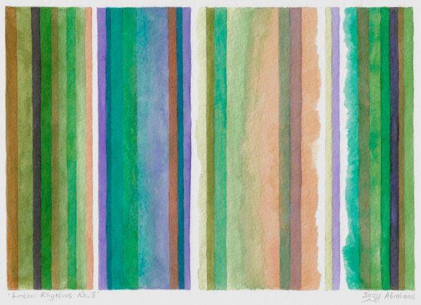 Linear Rhythms No.3 Unframed