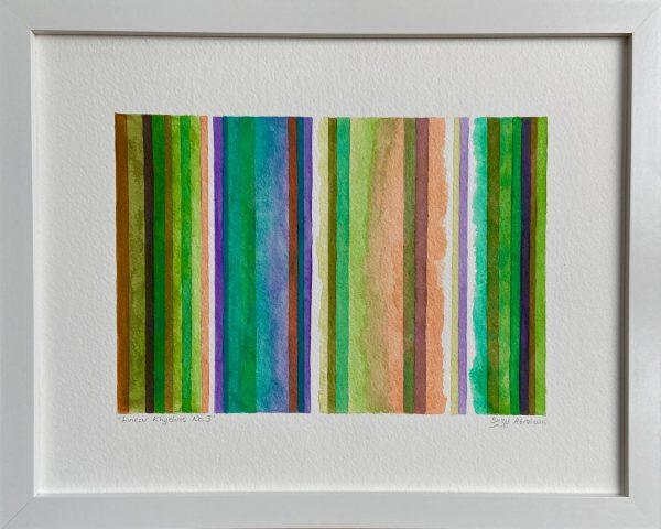Linear Rhythms No.3 in Actual Frame
