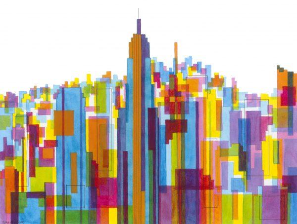 Manhattan Impressions No.2 Unframed