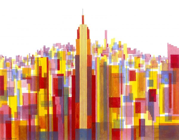 Manhattan Impressions No.3 Unframed