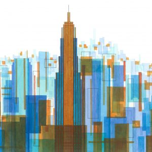 Manhattan Impressions No.4 Unframed