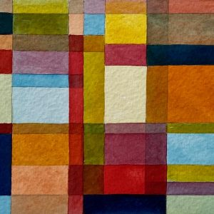 Mini Palette Composition No.1 Unframed