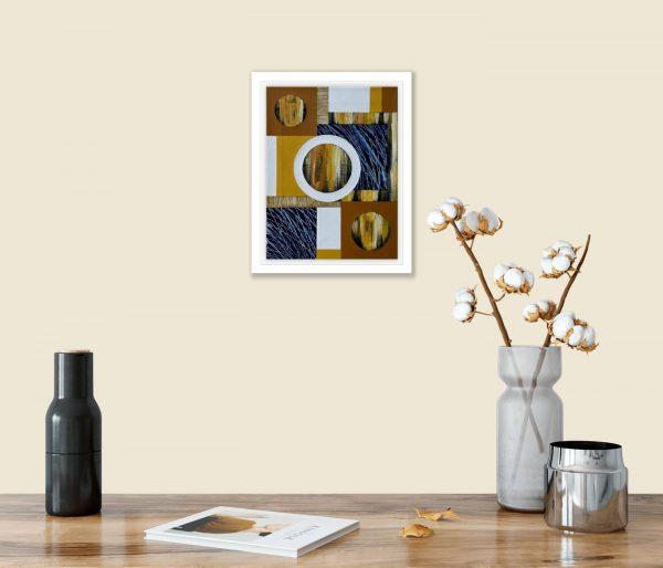 Mini Textural Elements No.11 in room 1