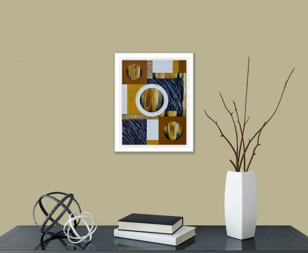 Mini Textural Elements No.11 in room 2