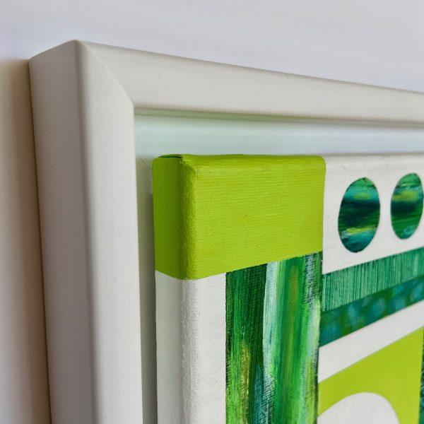 Mini Textural Elements No.3 Side View Close Up