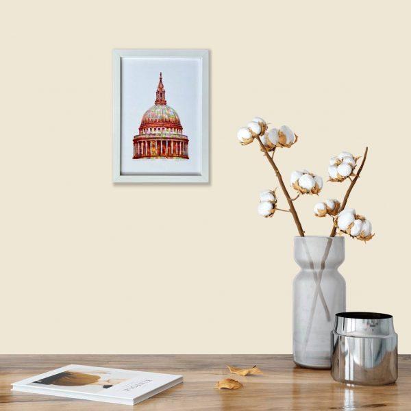St Paul's Cathedral Print in room 1
