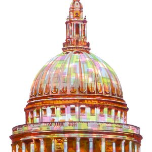 St Pauls Cathedral London Unframed