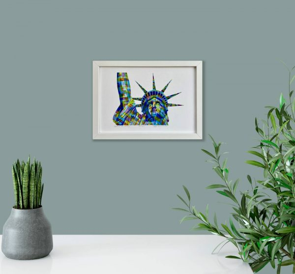 Statue of Liberty Print in room 1