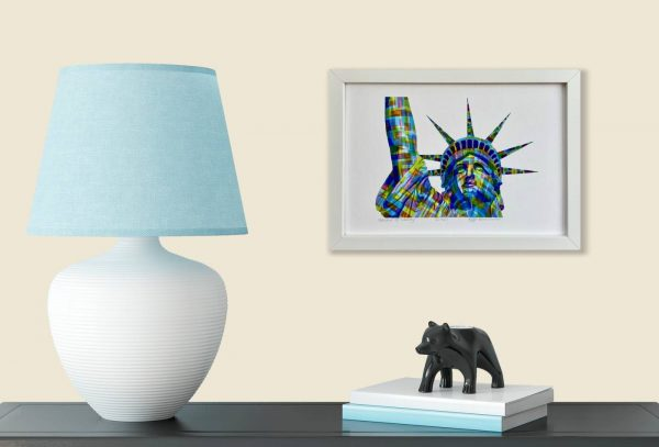 Statue of Liberty Print in room 2