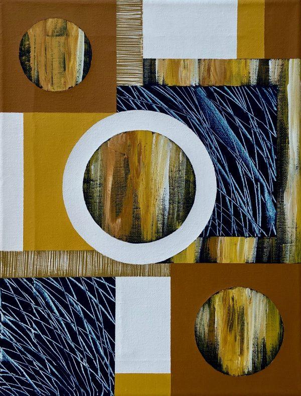 Mini Textural Elements No.11 Unframed