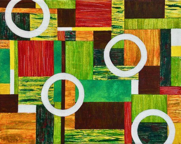 Textural Elements Composition No.6 Unframed