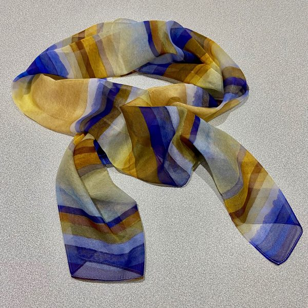 Linear Rhythms No.4 scarf