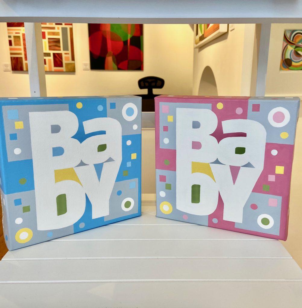 Baby No.1 & Baby No.2 on display