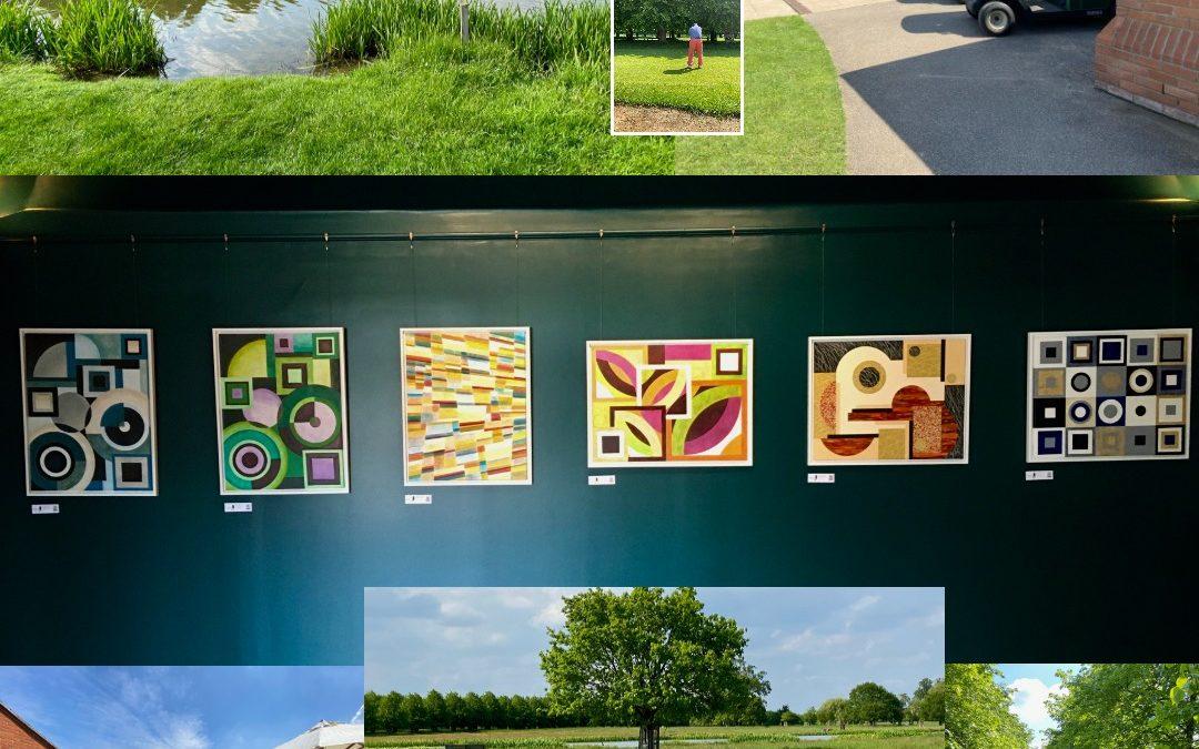 Hampton Court Palace Golf Club Collage