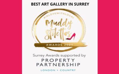 In The Finals for 2021 Best Art Gallery in Surrey