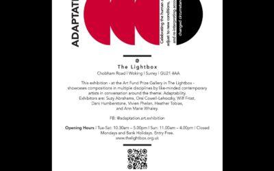 'Adaptation' at The Lightbox Gallery 14-26 September 2021