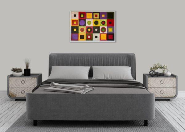 Homage II to Klimt in bedroom